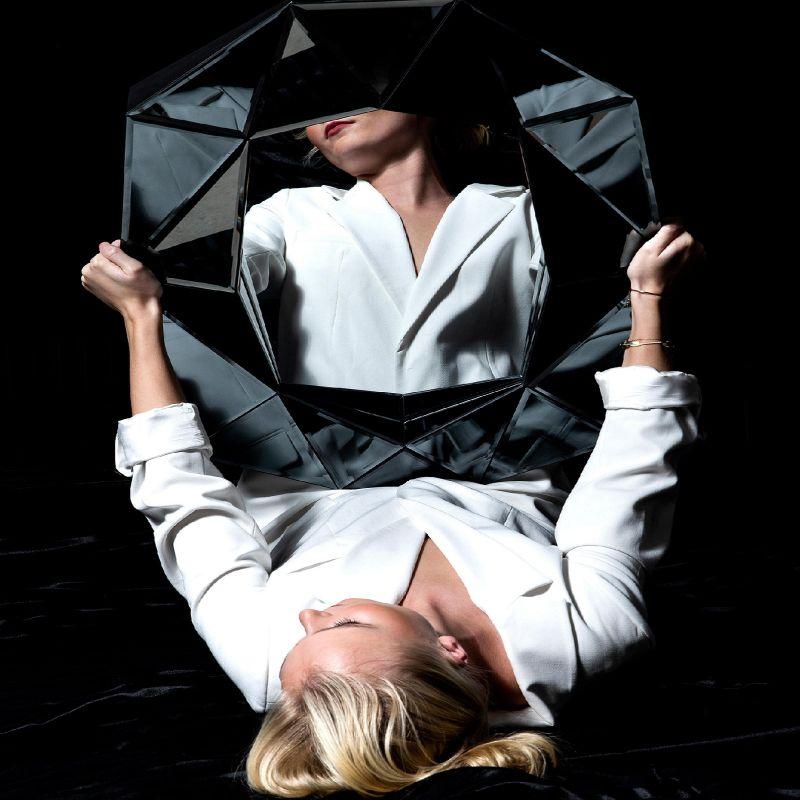 Καθρέφτης Diamond S MDF/Καθρέφτης 57,6x80 εκ.