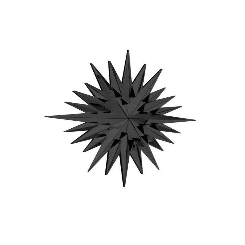 Καθρέφτης Super Star Black 108x116 εκ.