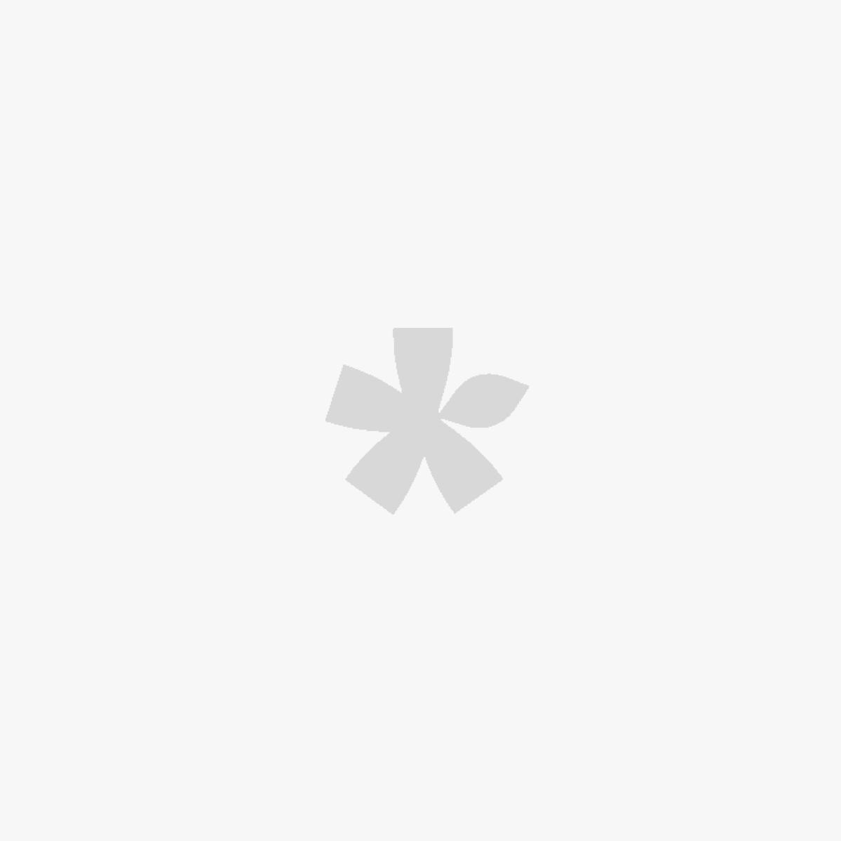 Καρέκλα Ξύλινη με Γαλάζιο Δέρμα