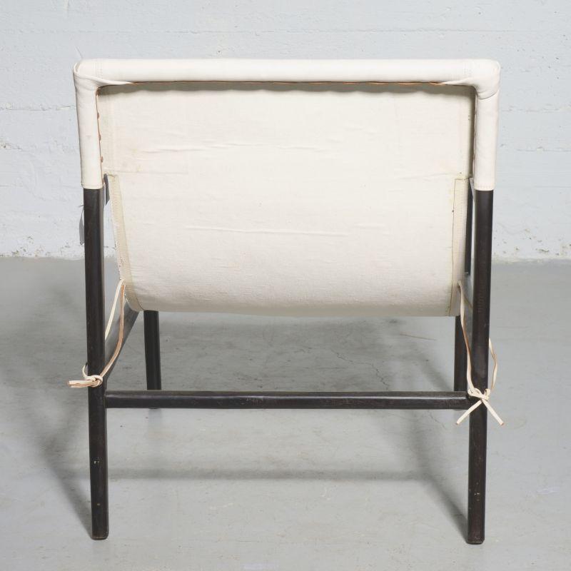 Πολυθρόνα Δερμάτινη Teak Λευκή 63x70x88 εκ.