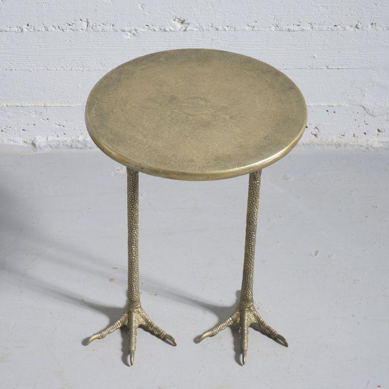 Τραπέζι Αλουμινένιο Χρυσό 37,5x37,5x48 εκ.