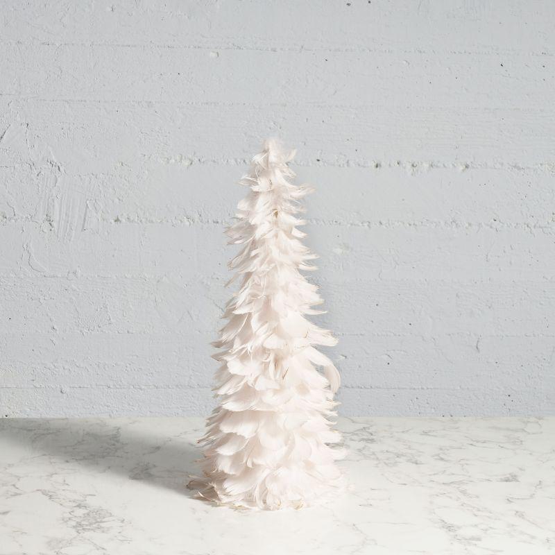 Χριστουγεννιάτικο Δέντρο με Φτερά Ροζ 46 εκ.