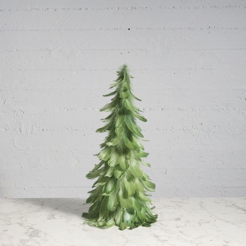 Διακοσμητικό Δέντρο με Φτερά Πράσινο 61 εκ.