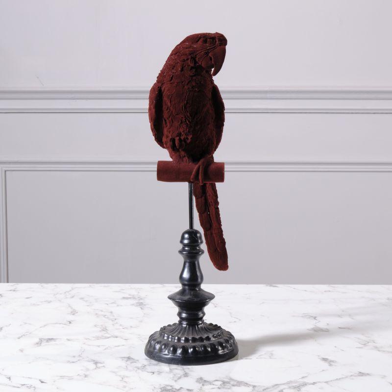 Διακοσμητικός Παπαγάλος Πολυρεζίνη Κόκκινος 40,5 εκ.