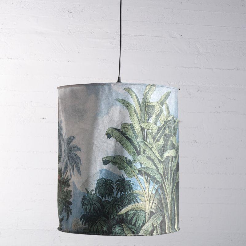 Φωτιστικό Οροφής Βελούδινο Tropical 50x50x56 εκ.