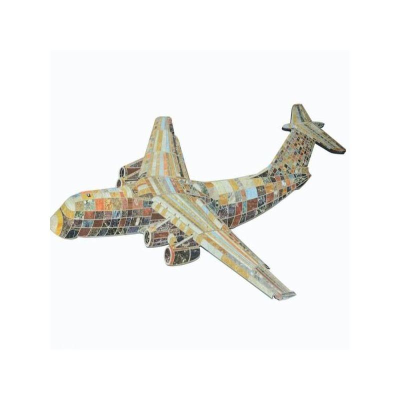 Πίνακας Αεροπλάνο Ξύλινο 307x125 εκ.