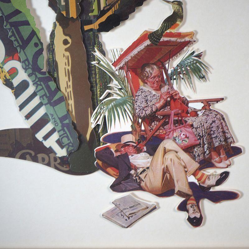 Πίνακας Κολάζ Κάκτος 60x80 εκ.