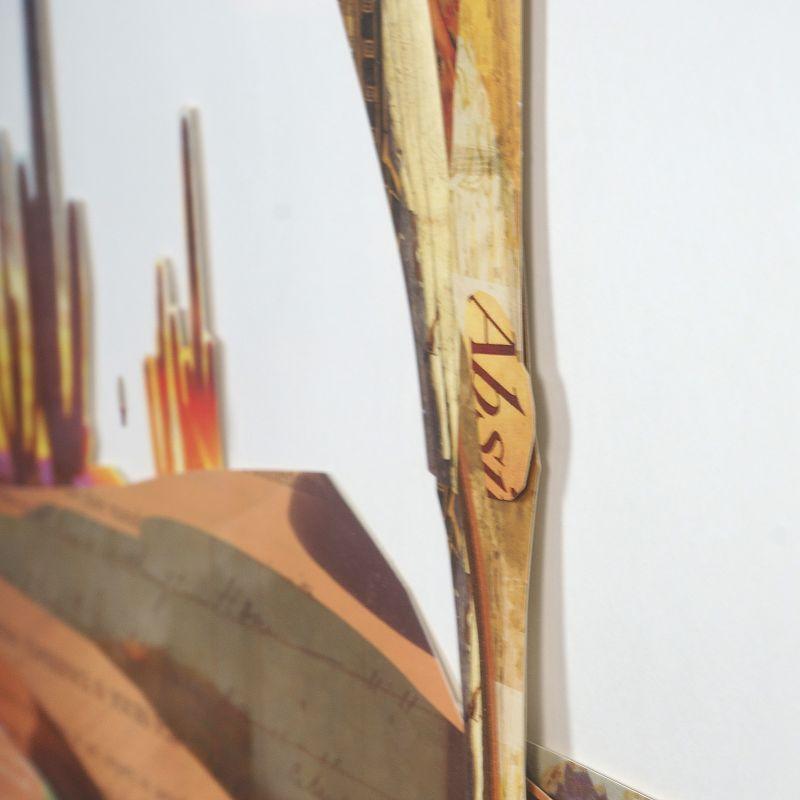 Πίνακας Κολάζ Καμήλα 75x100 εκ.