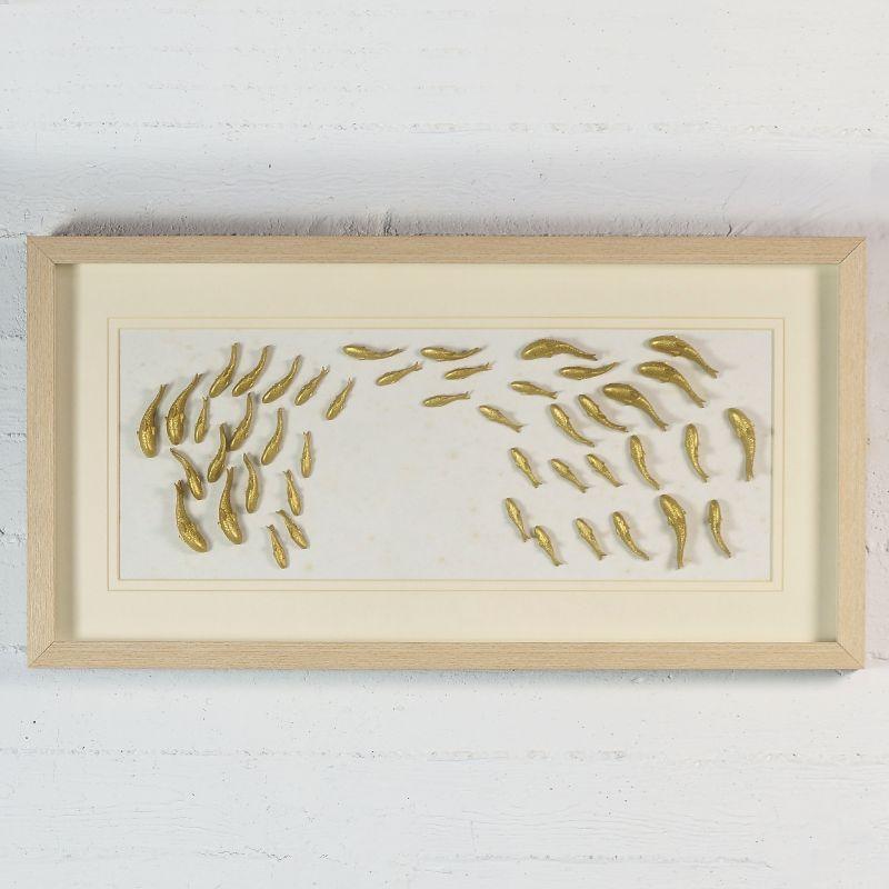 Πίνακας Ψάρια 42,5x82,5 εκ.