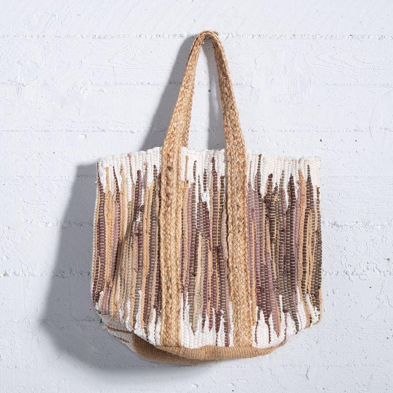 Τσάντα Υφασμάτινη Καφέ 35x35x40 εκ.