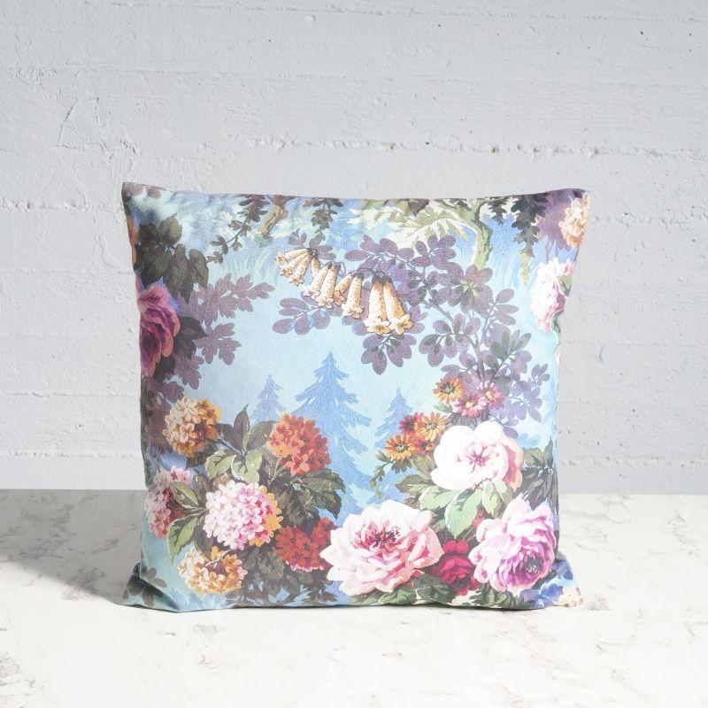 Μαξιλάρι Βελούδινο Floral 45x45 εκ.