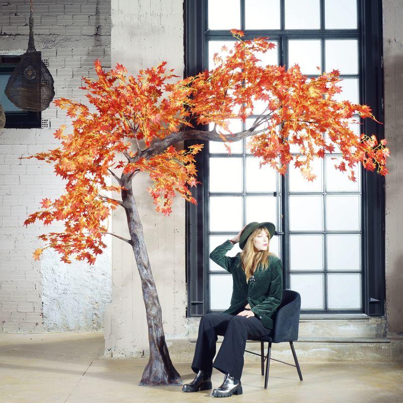 Τεχνητό Δέντρο Σφένδαμος Κόκκινος 280 εκ.