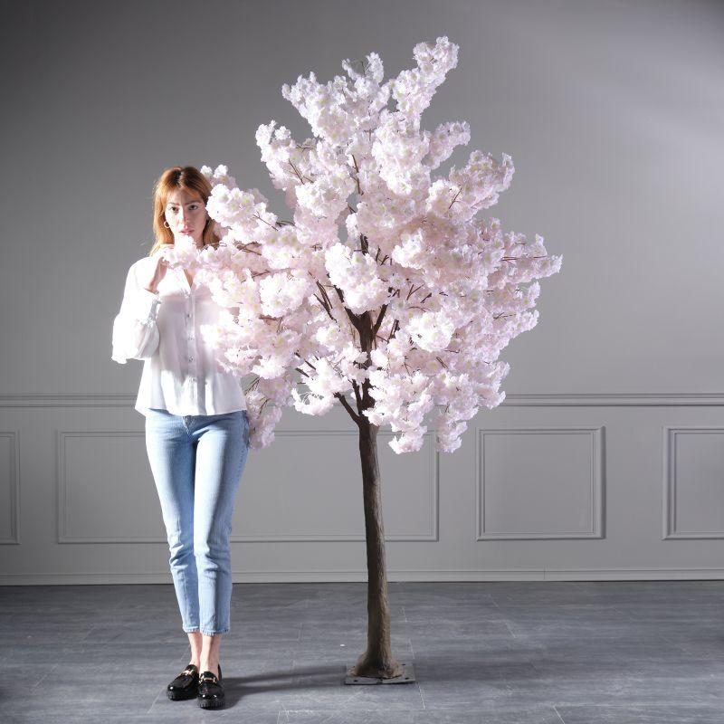 Τεχνητό Δέντρο Αμυγδαλιά Ροζ 230 εκ.