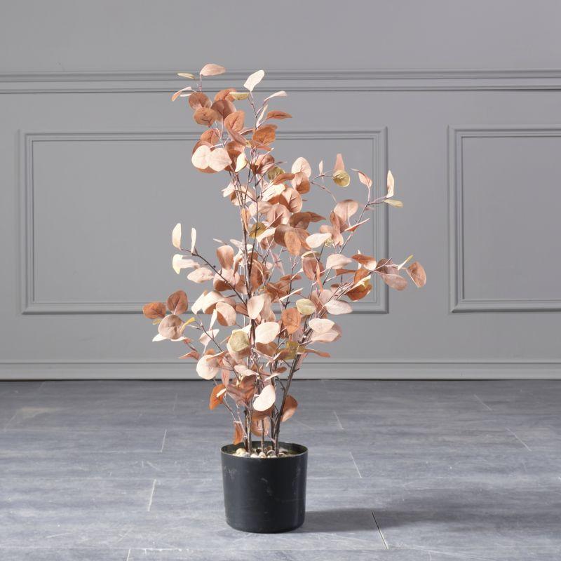Τεχνητό Φυτό Παχίρα Πορτοκαλί 94 εκ.