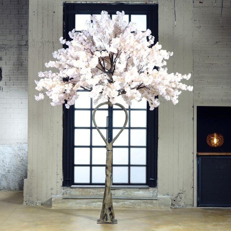 Τεχνητό Δέντρο Αμυγδαλιά Καρδιά Ροζ 350 εκ.
