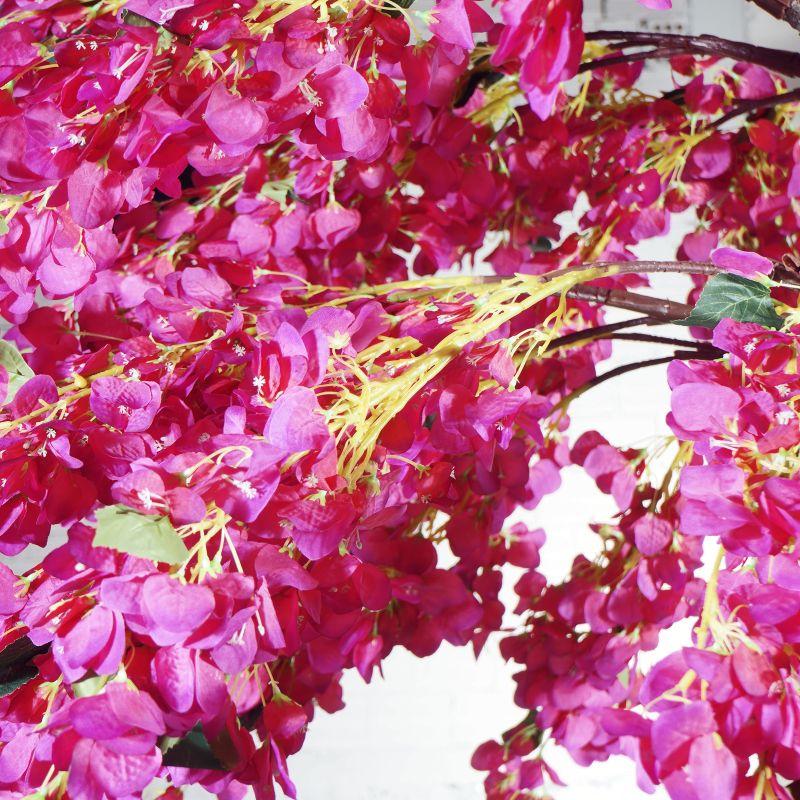 Τεχνητό Δέντρο Βουκαμβίλια Φούξια 320 εκ.