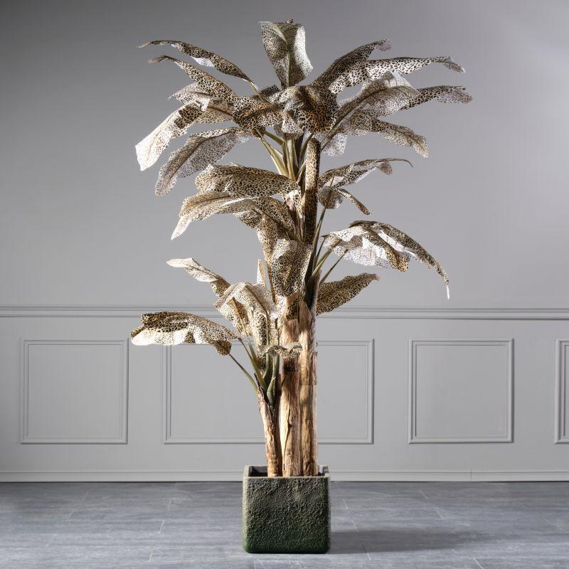 Τεχνητό Δέντρο Μπανανιά Λεοπάρ 240 εκ.