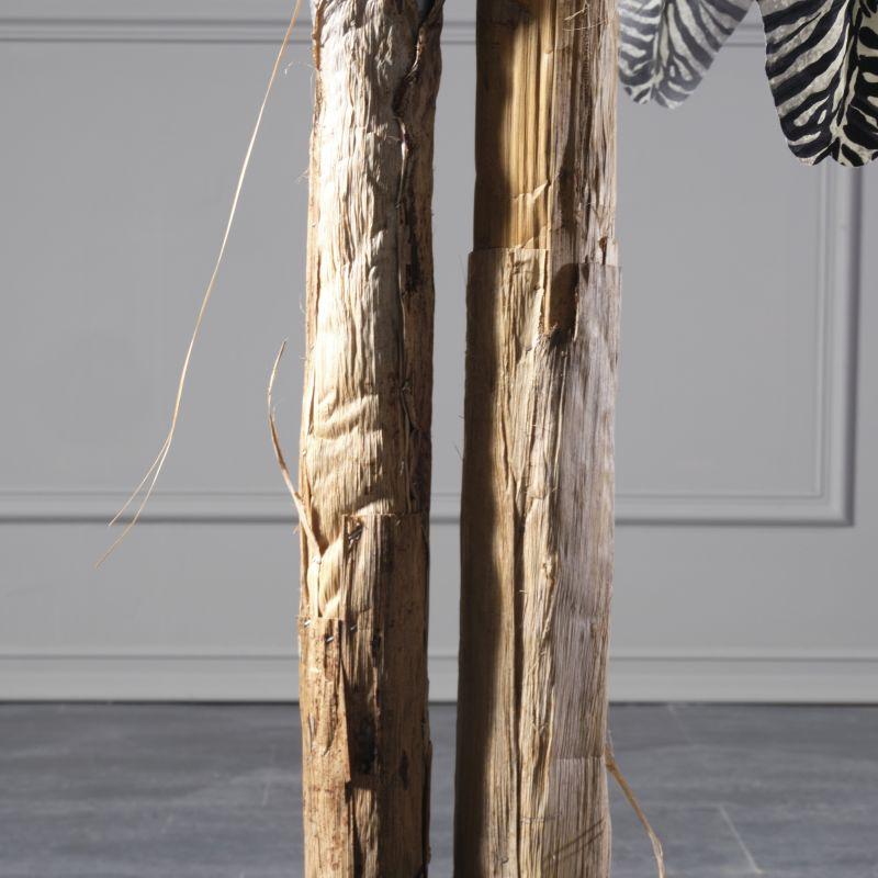 Τεχνητό Δέντρο Μπανανιά Ζέβρα 210 εκ.