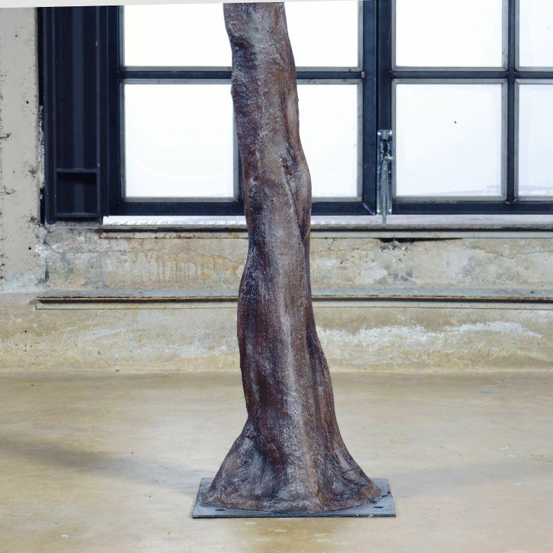 Τεχνητό Δέντρο Αμυγδαλιά Μπεζ 320 εκ.