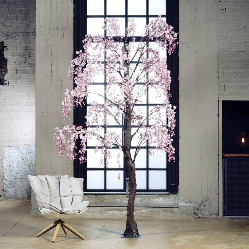 Τεχνητό Δέντρο Ροδακινιά Ροζ 290 εκ.