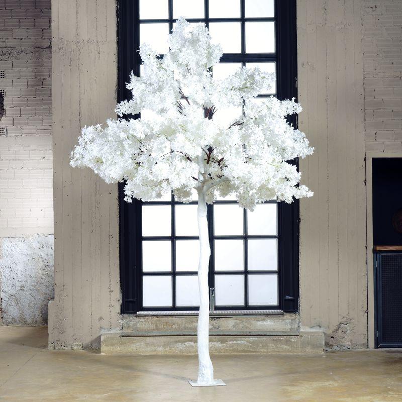 Τεχνητό Δέντρο Αμυγδαλιά Χιονισμένη 340 εκ.