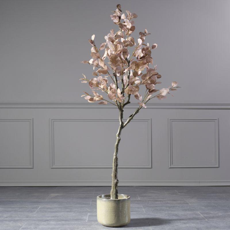 Τεχνητό Δέντρο Παχίρα Πορτοκαλί 157 εκ.