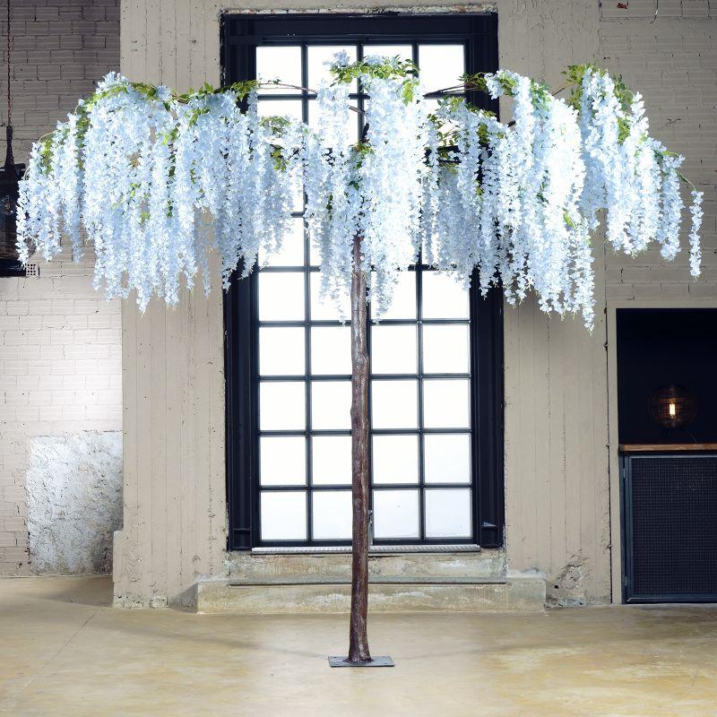 Τεχνητό Δέντρο Γλυσίνια Γαλάζια 290 εκ.
