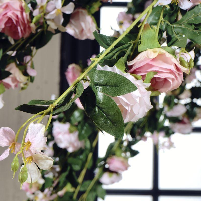 Τεχνητό Δέντρο Τριανταφυλλιά Αναρριχώμενη Φούξια 280 εκ.