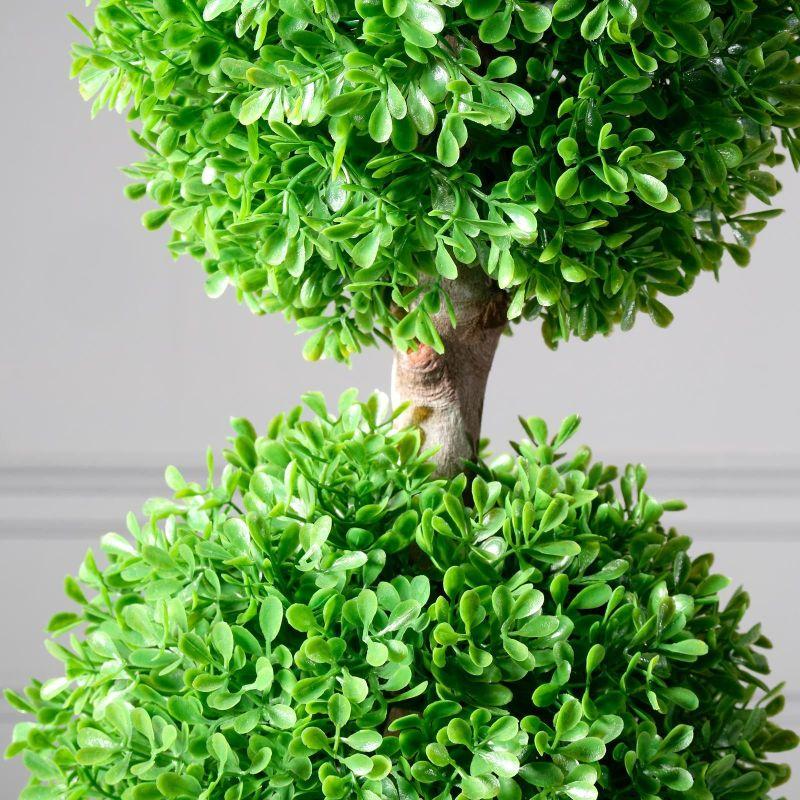 Τεχνητό Φυτό Πύξος Διπλός 60 εκ.