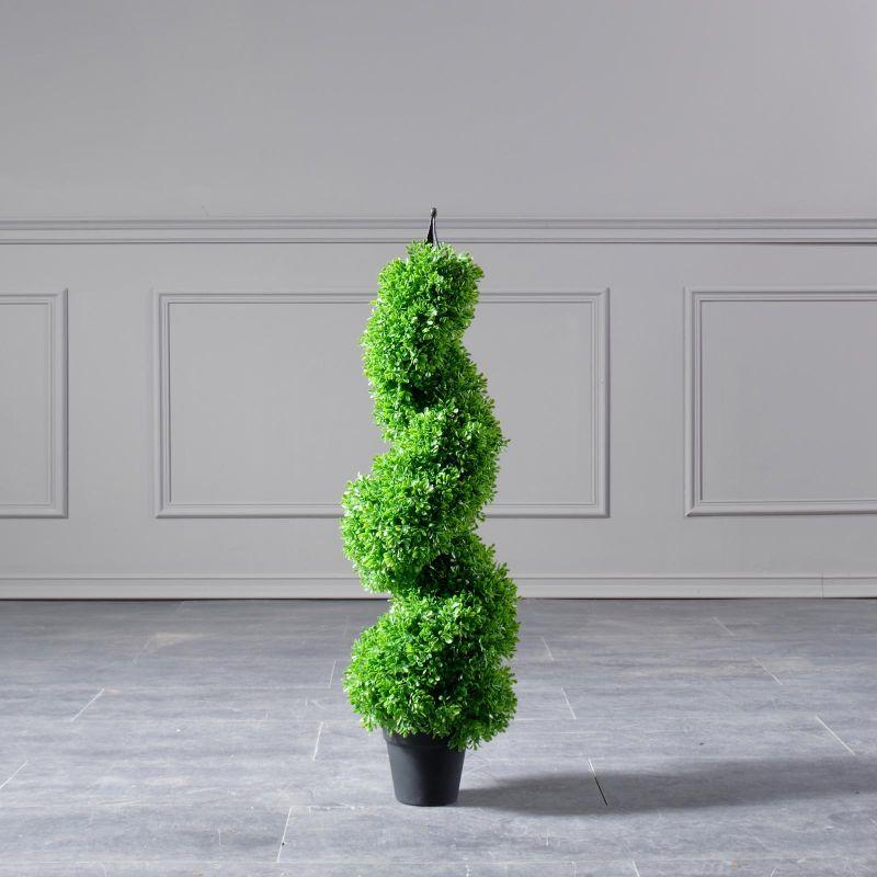 Τεχνητό Φυτό Πύξος Σπιράλ 90 εκ.