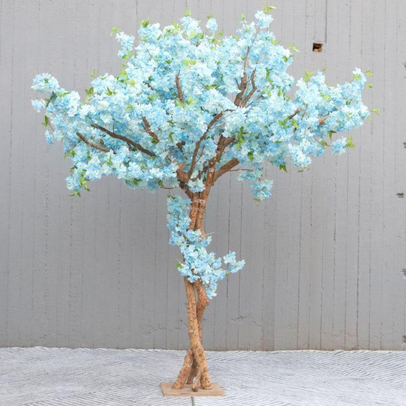 Τεχνητό Δέντρο Κερασιά Γαλάζια 250 εκ.