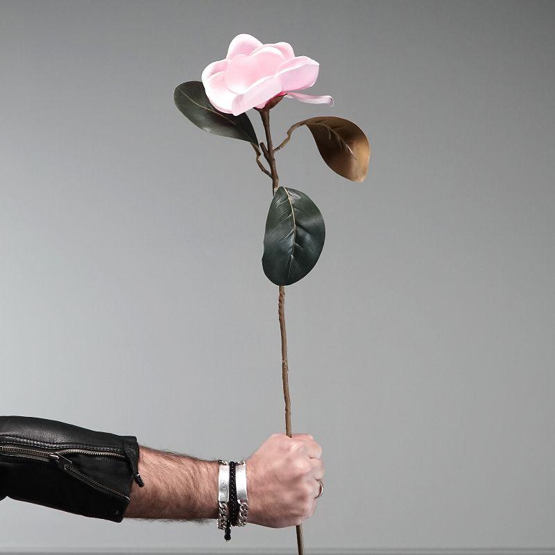 Τεχνητό Κλωνάρι Μανόλια Ροζ 70 εκ.