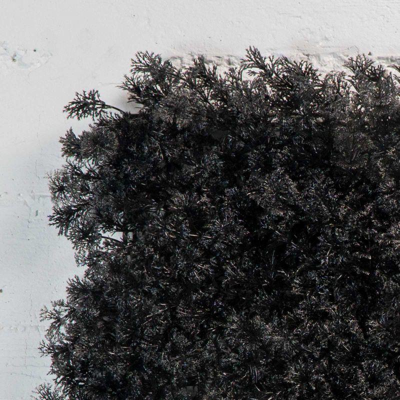 Τεχνητή Φυλλωσιά Μαύρη 50x50 εκ.
