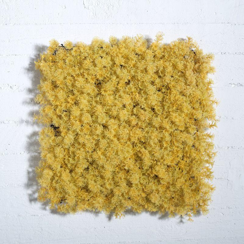 Τεχνητή Φυλλωσιά Κίτρινη 50x50 εκ.