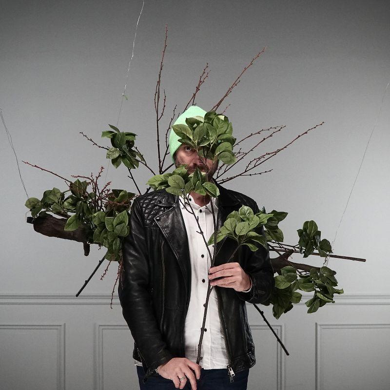 Τεχνητό Κλωνάρι Φίκος Πράσινο