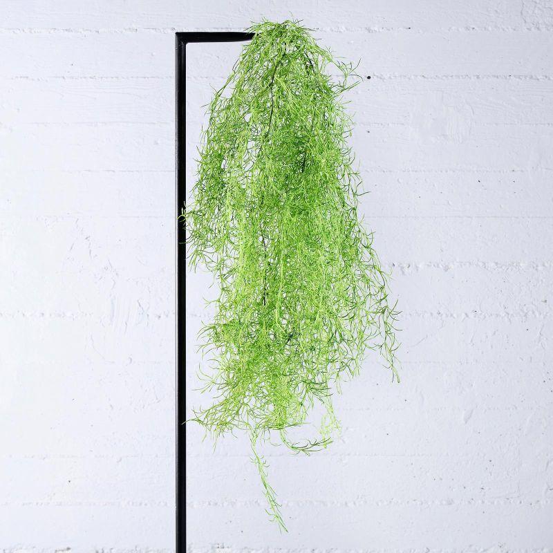 Τεχνητή Κρεμαστή Τιλάνσια Πράσινη 90 εκ.