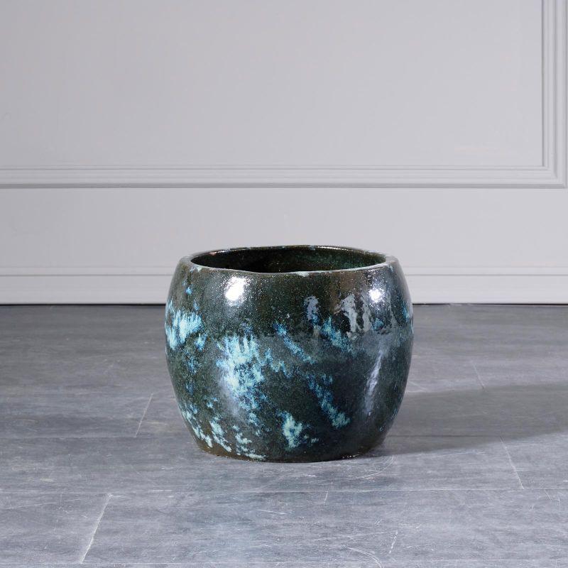 Κασπώ Κεραμικό Granite Green 55x55x38 εκ.
