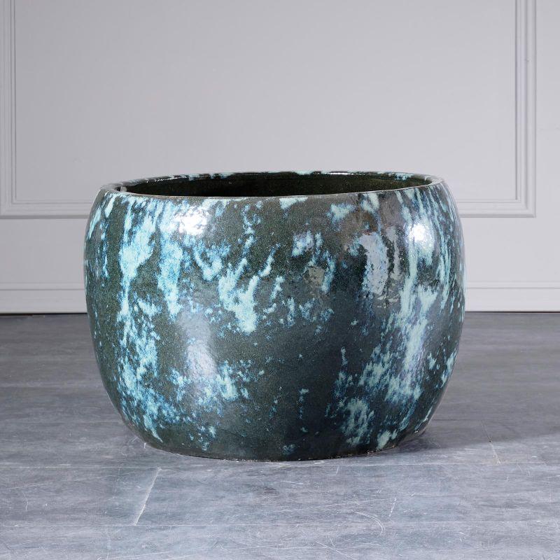 Κασπώ Κεραμικό Granite Green 31x31x23 εκ.