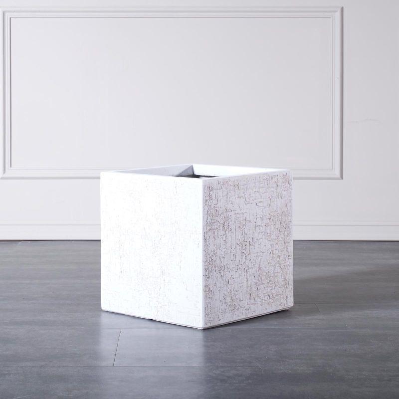 Γλάστρα Πήλινη Τετράγωνη 33x33x33 εκ.